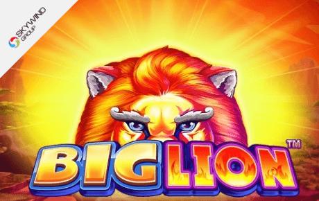 Big Lion slot machine