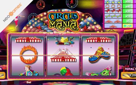 Circus Mania slot machine