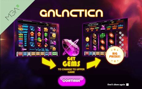 Galactica slot machine