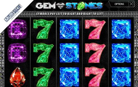 Gem stones slot machine