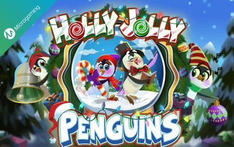 Holly Jolly Penguins slot machine
