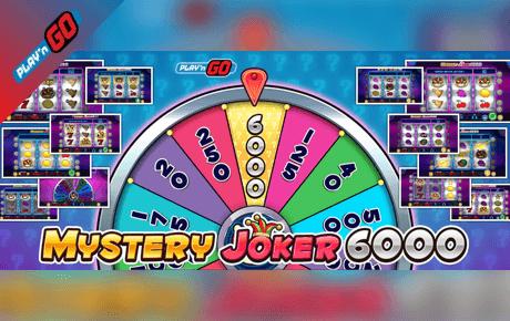PlayN GO Releases New Mystery Joker 6000 Slot