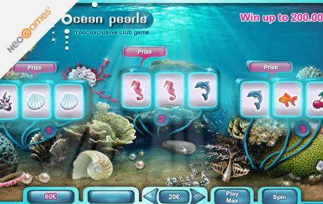 ocean pearls slot machine online