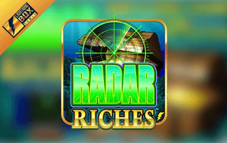 radar riches slot machine online