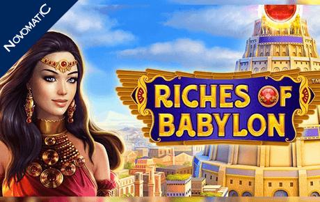 Riches Of Babylon Slot Machine