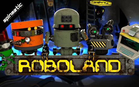 Roboland slot machine