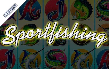 Sportsfishing slot machine