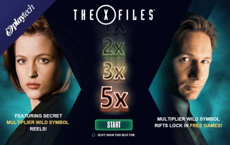 The X-Files slot machine