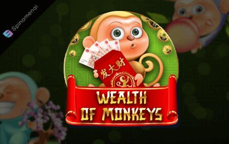 Wealth of monkeys slot machine