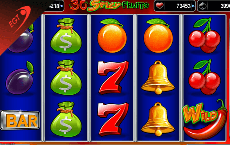 30 Spicy Fruits slot machine