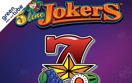 5 line jokers slot machine online