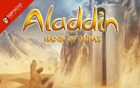 aladdin hand of midas slot machine online