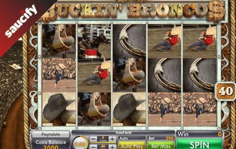 buckin' broncos slot machine online