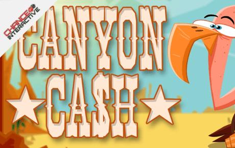 canyon cash slot machine online