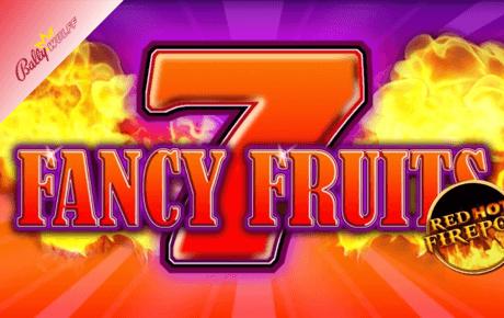fancy fruits – red hot fire pot slot machine online