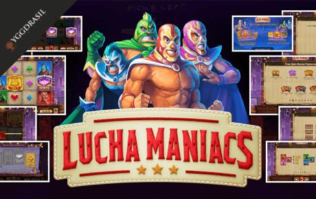 Lucha Maniacs slot machine