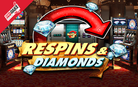Respins and Diamonds slot machine