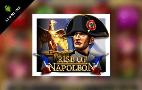 rise of napoleon slot machine online