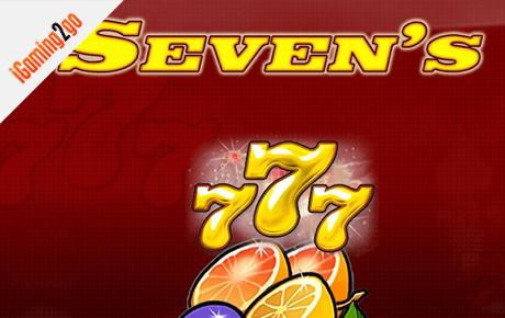 Sevens slot machine
