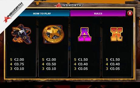 the enforcer slot machine online