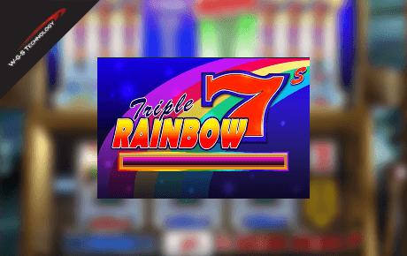 Triple Rainbow 7s slot machine