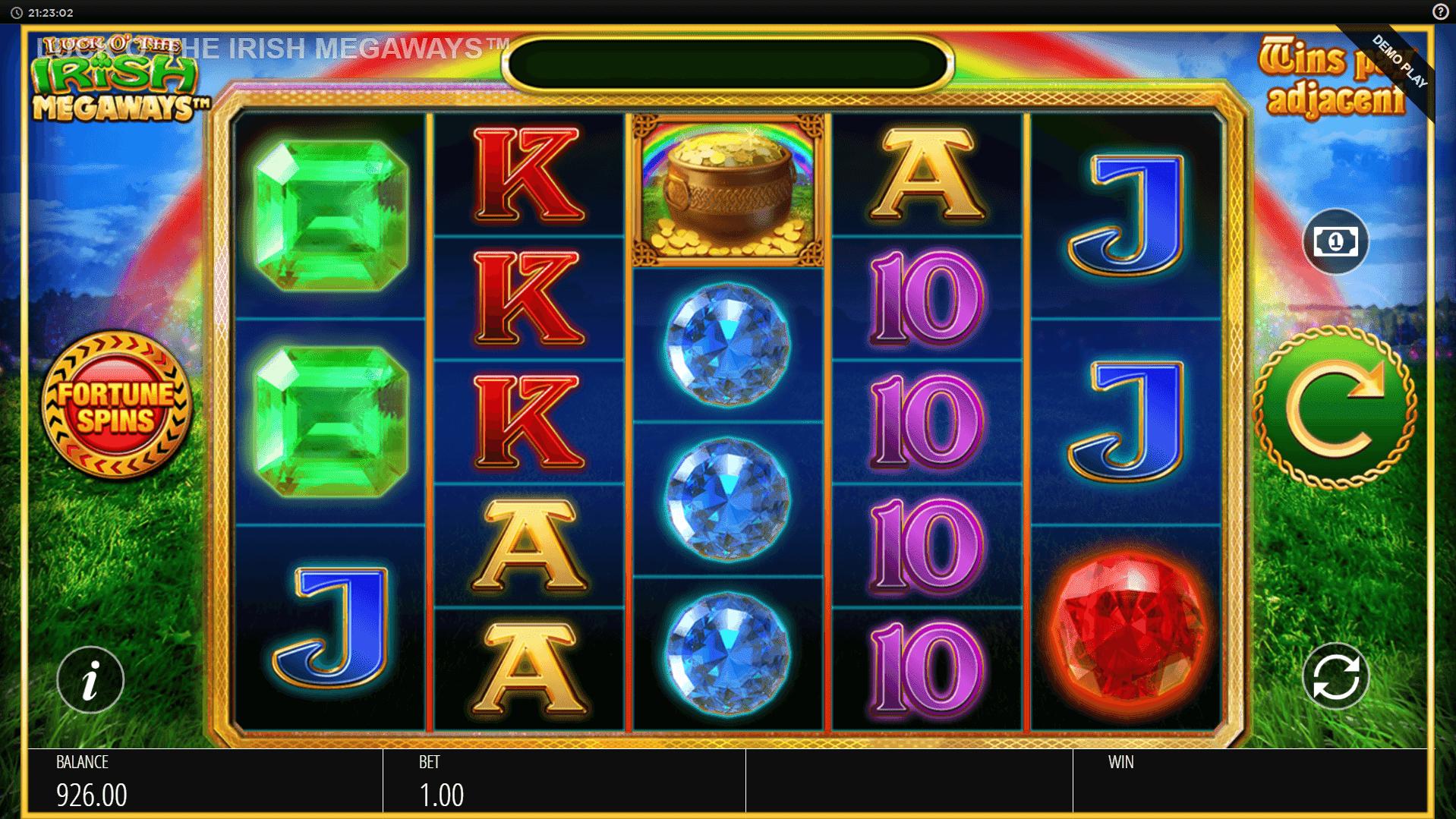 Luck O The Irish Megaways slot machine screenshot