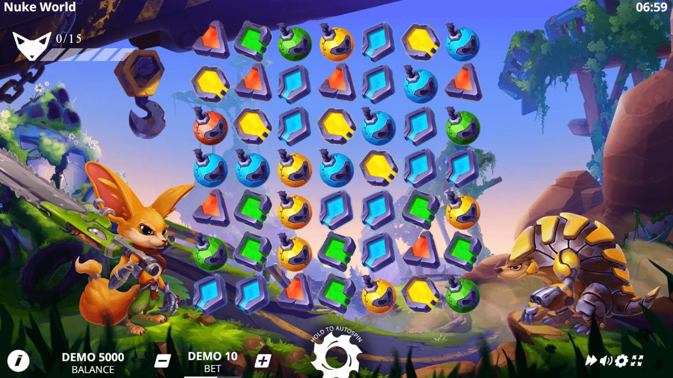 Nuke World slot machine screenshot