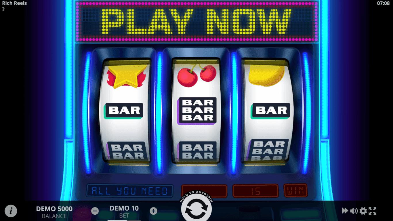 Rich Reels slot machine screenshot