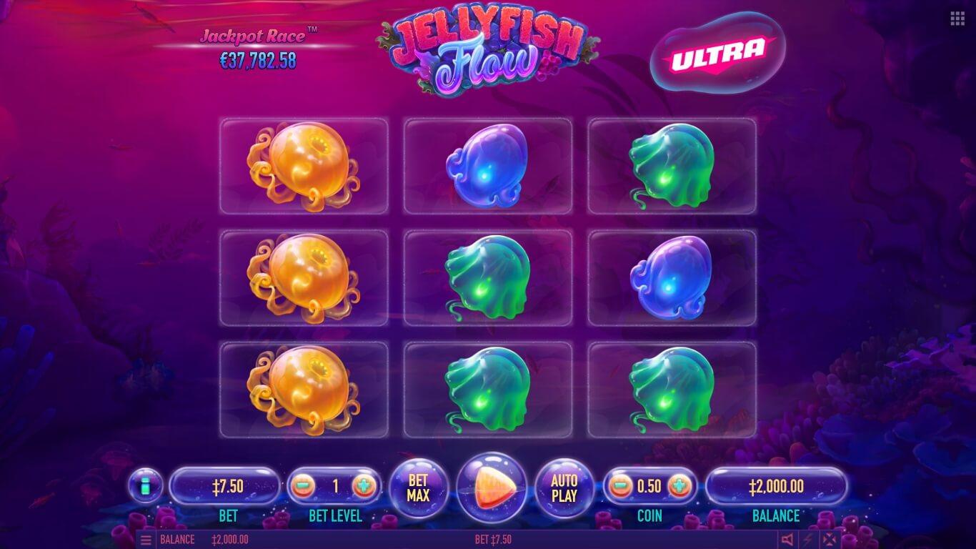 Jellyfish Flow slot machine screenshot