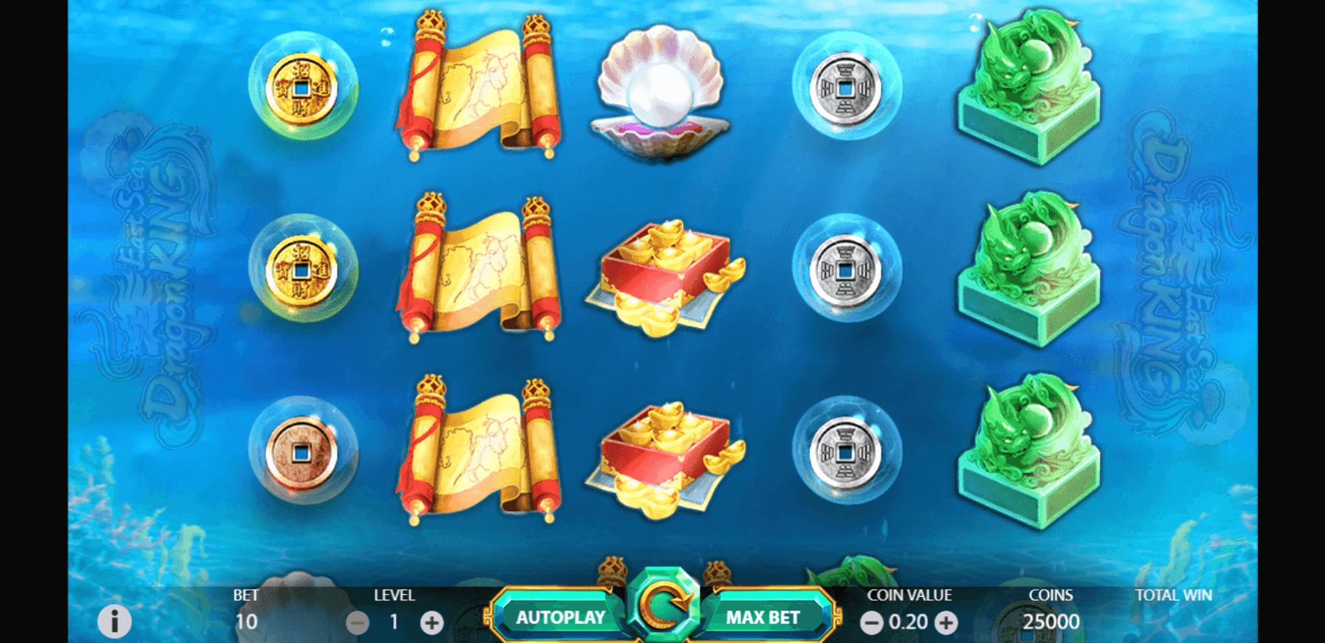 East Sea Dragon King slot machine screenshot