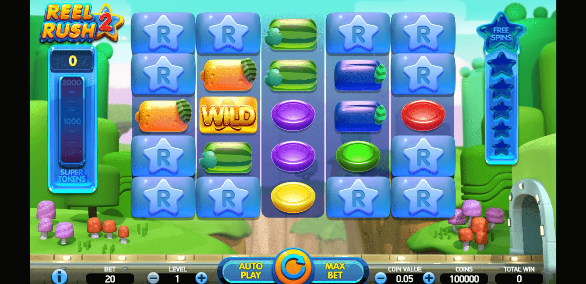 Reel Rush 2 slot machine screenshot