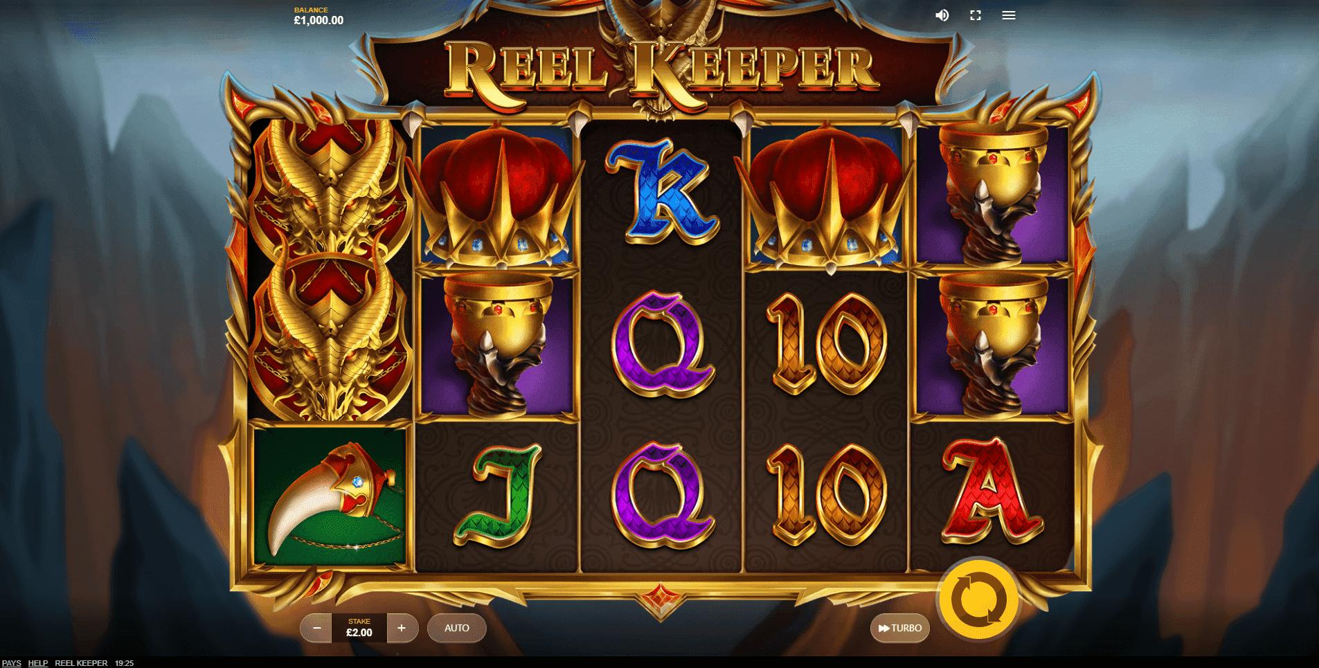 Reel Keeper slot machine screenshot