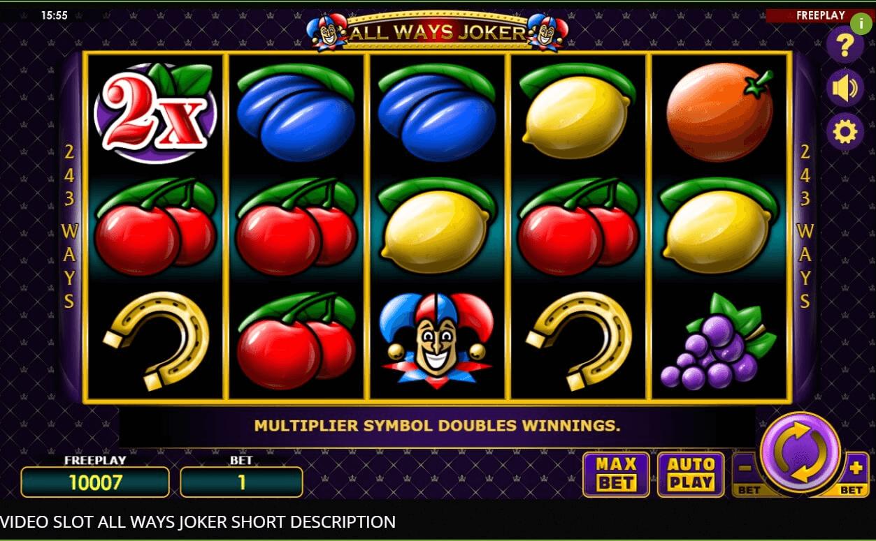allways joker online slot spielen