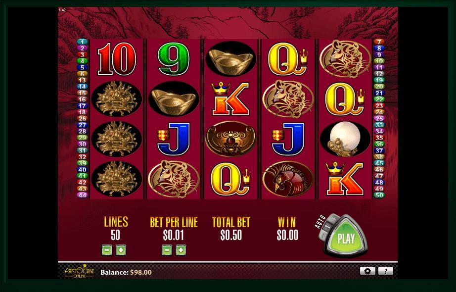 50 Dragons slot play free