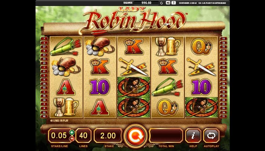 Lady Robin Hood slot play free