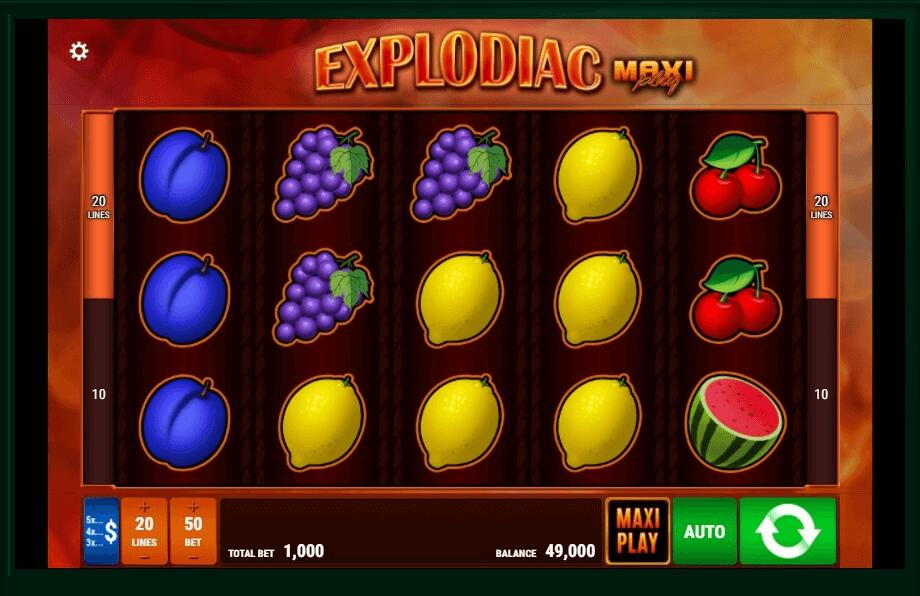 Explodiac Maxi Play slot play free