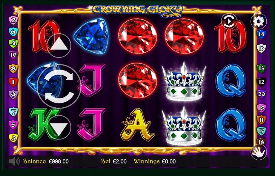Crowning Glory slot play free