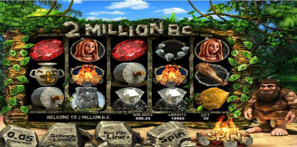 2 Million B.C. slot machine screenshot