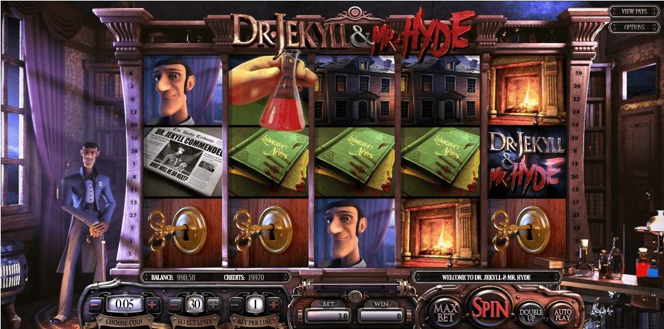 Dr. Jekyll & Mr. Hyde slot machine screenshot