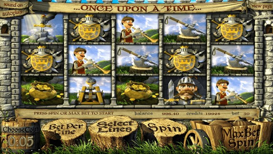 Once Upon a Time slot machine screenshot