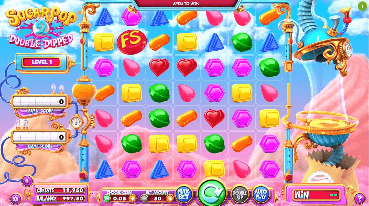 SugarPop 2: Double Dipped slot machine screenshot