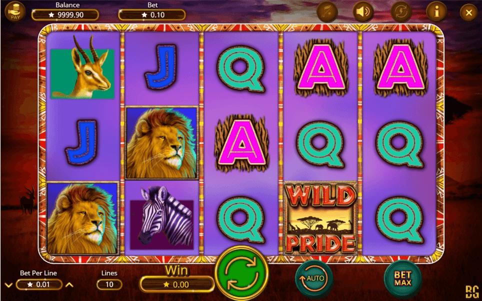 Wild Pride slot play free