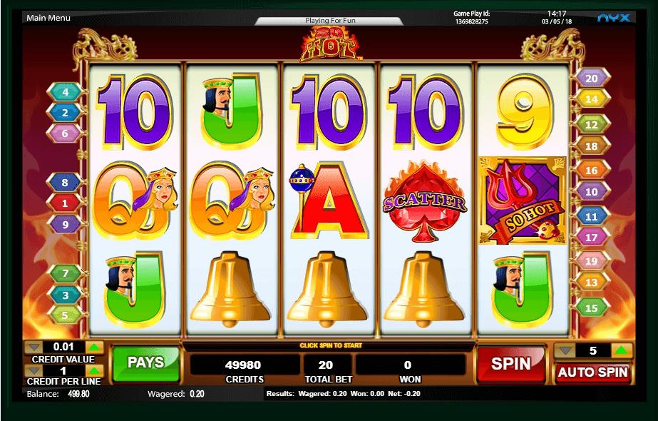 So Hot slot play free