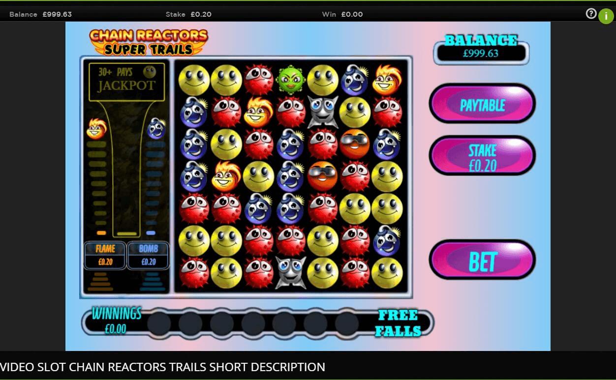 Chain Reactors Slot Machine