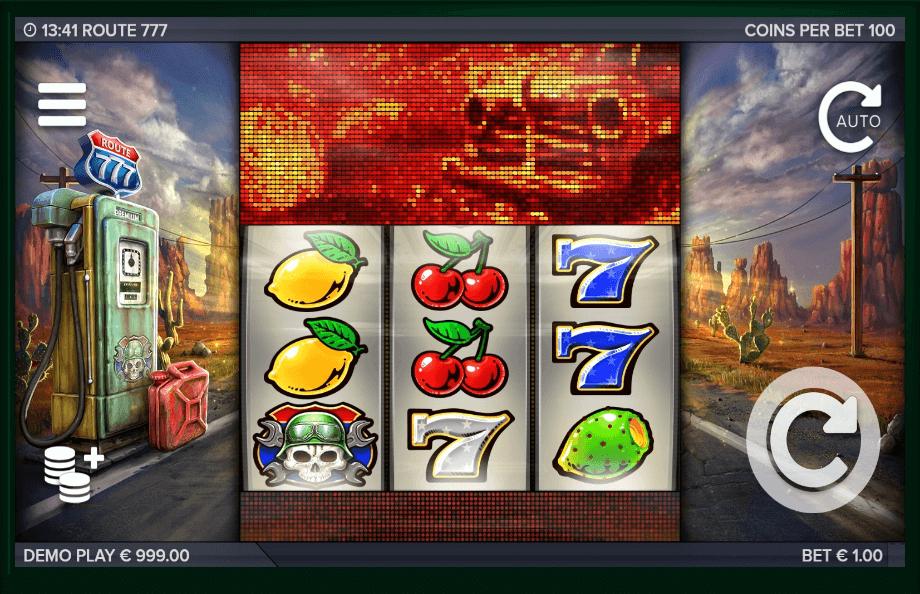 Route 777 slot machine screenshot