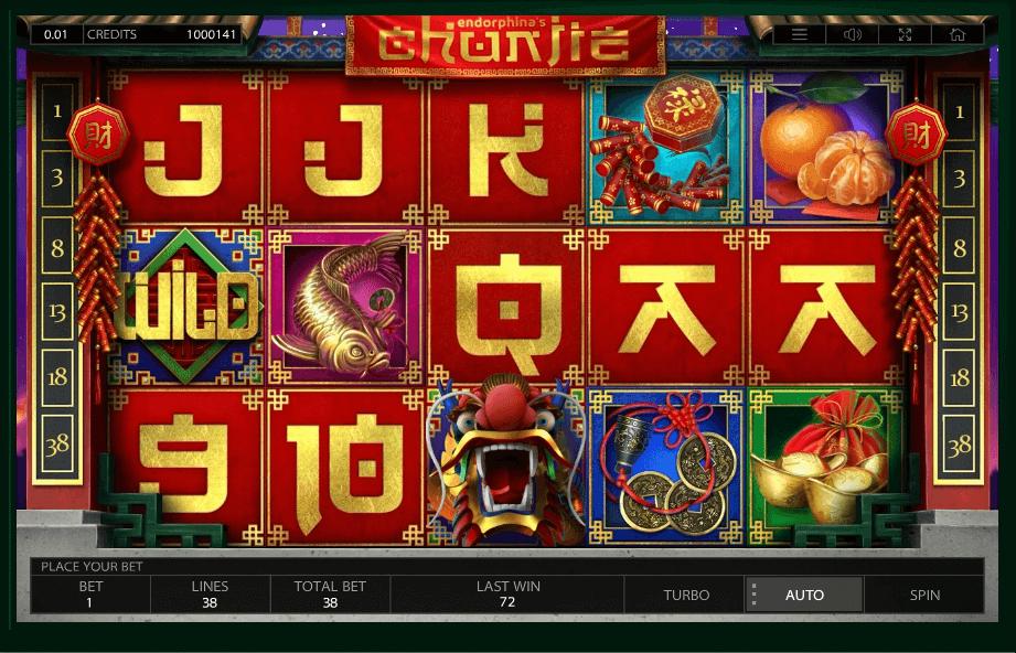 Chunjie No Download Slot Game