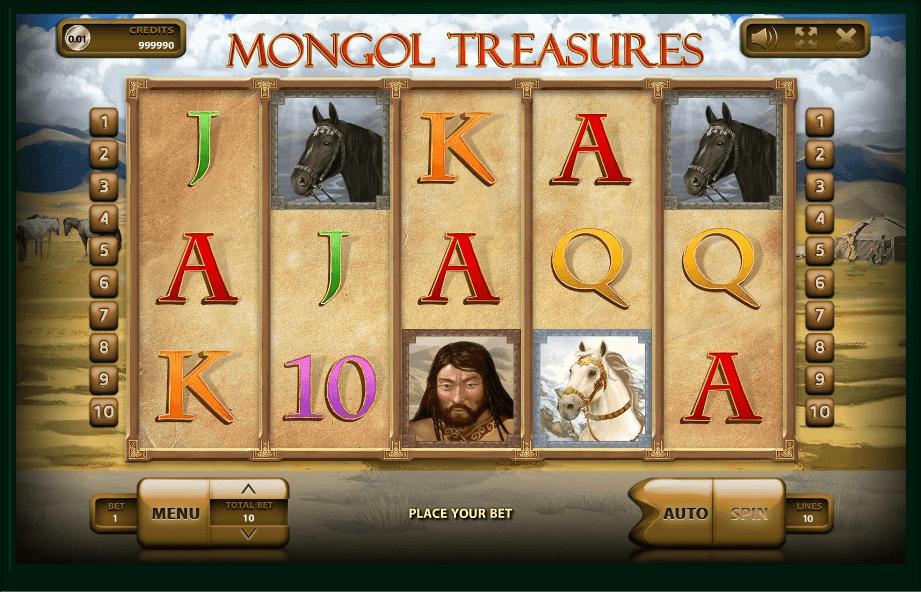 Mongol Treasures slot play free