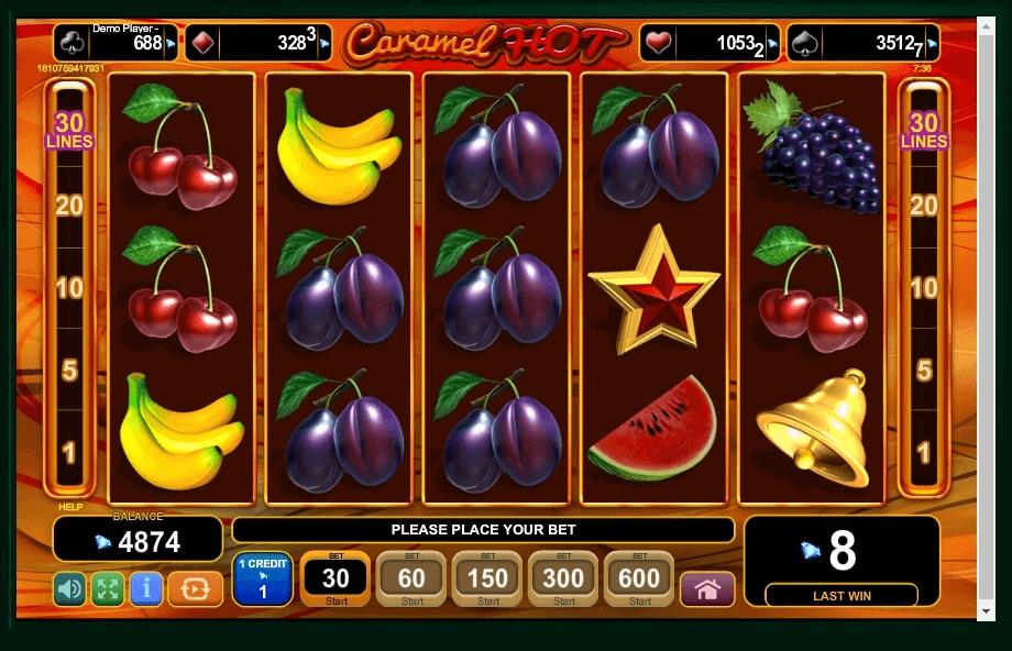 Caramel Hot Slot Machine