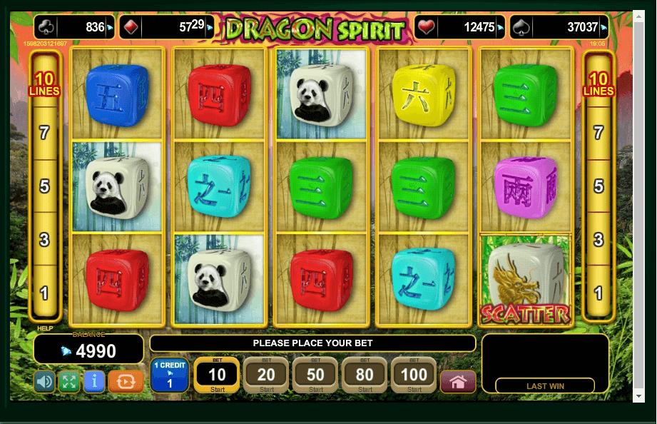Dragon Spirit slot play free