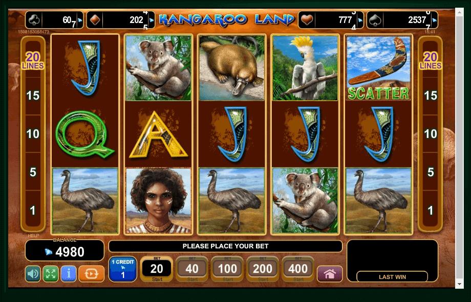 Kangaroo Land slot play free
